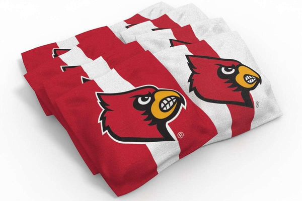 Image: Louisville Cardinals 2x4 Cornhole Board Set - Realtree Max-5<sup>®</sup> Camo | Proline Tailgating