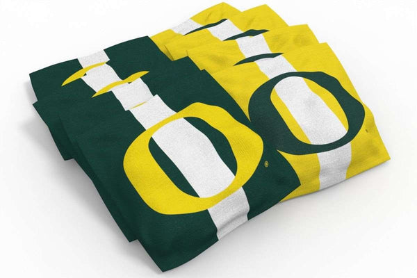 Image: Oregon Ducks 2x4 Cornhole Board Set - Swirl | Proline Tailgating
