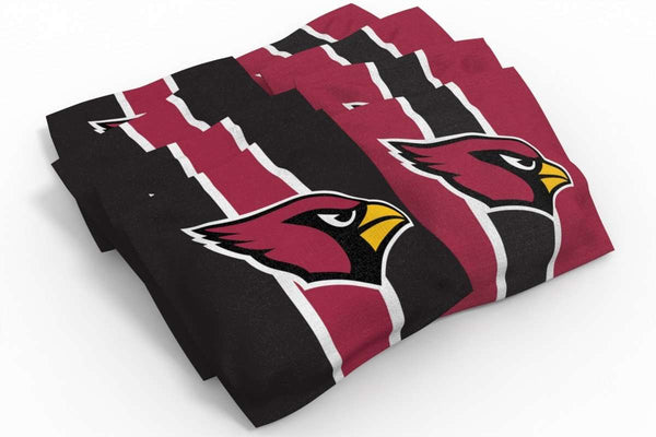 Image: Arizona Cardinals 2x4 Cornhole Board Set - The Edge | Proline Tailgating
