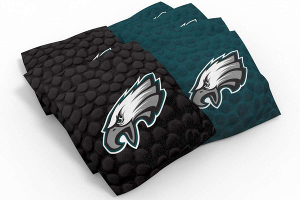 Image: Philadelphia Eagles 2x4 Cornhole Board Set - Realtree Max-1<sup>®</sup> Camo | Proline Tailgating