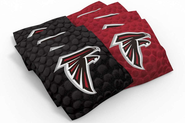 Image: Atlanta Falcons Cornhole Board Set - Vintage | Proline Tailgating