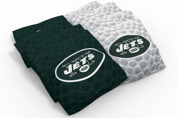 Image: New York Jets 2x4 Cornhole Board Set - Realtree Max-1<sup>®</sup> Camo | Proline Tailgating