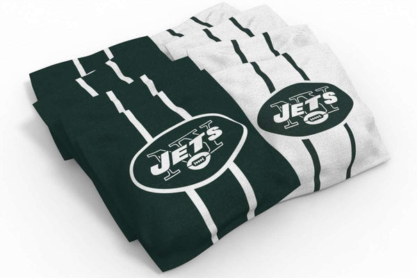 Image: New York Jets 2x4 Cornhole Board Set - Ripped | Proline Tailgating