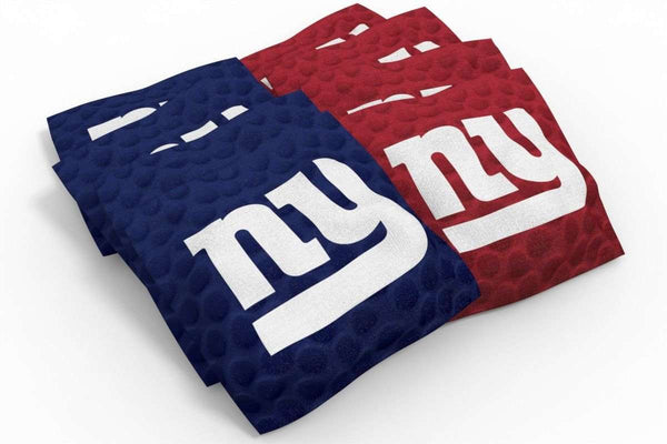 Image: New York Giants 2x4 Cornhole Board Set - Hot | Proline Tailgating