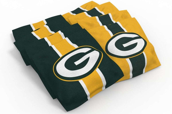 Image: Green Bay Packers 2x4 Cornhole Board Set - Medallion | Proline Tailgating