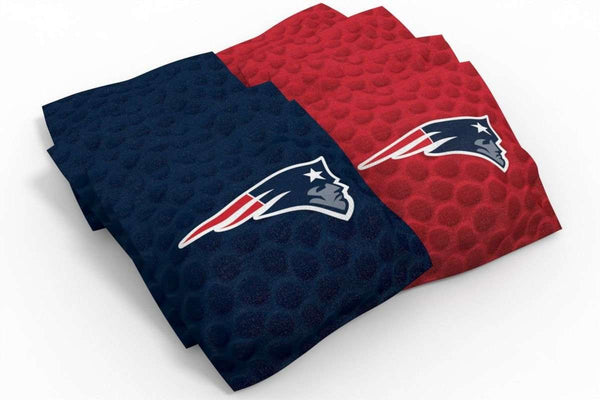 Image: New England Patriots 2x4 Cornhole Board Set - Realtree Max-1<sup>®</sup> Camo | Proline Tailgating
