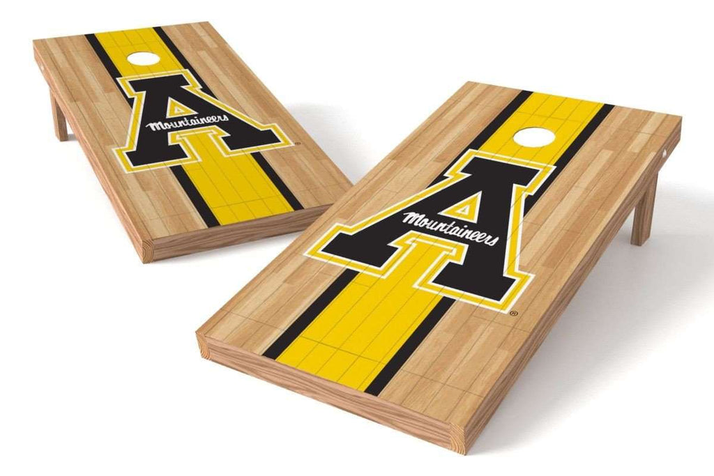 "Image: Appalachian State Mountaineers Cornhole Board Set - Court ""A"" 