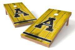 "Image: Appalachian State Mountaineers Single Cornhole Board - Vintage ""A"" 