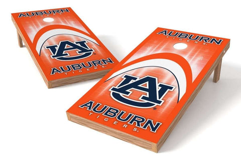 Image: Auburn Tigers Cornhole Board Set - Arch (w/Bluetooth Speakers) | Proline Tailgating