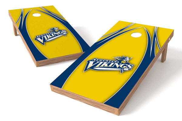 Image: Augustana College Vikings Cornhole Board Set - The Edge | Proline Tailgating