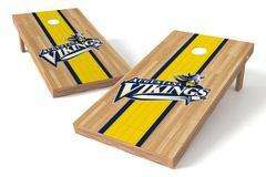Image: Augustana College Vikings Single Cornhole Board - Court | Proline Tailgating