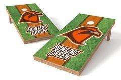 Image: Bowling Green Falcons Single Cornhole Board - Field | Proline Tailgating