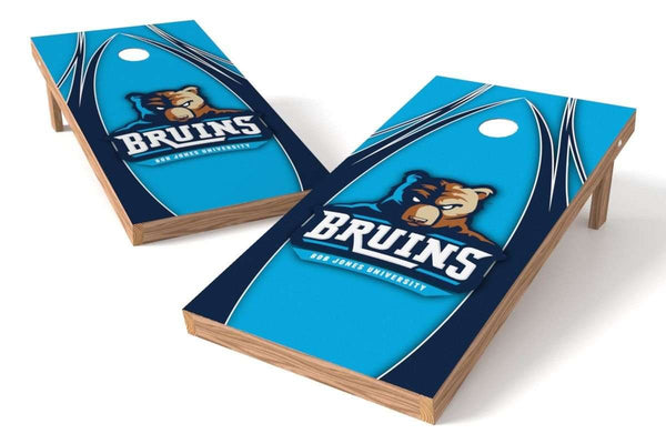 Image: Bob Jones Bruins Cornhole Board Set - The Edge | Proline Tailgating