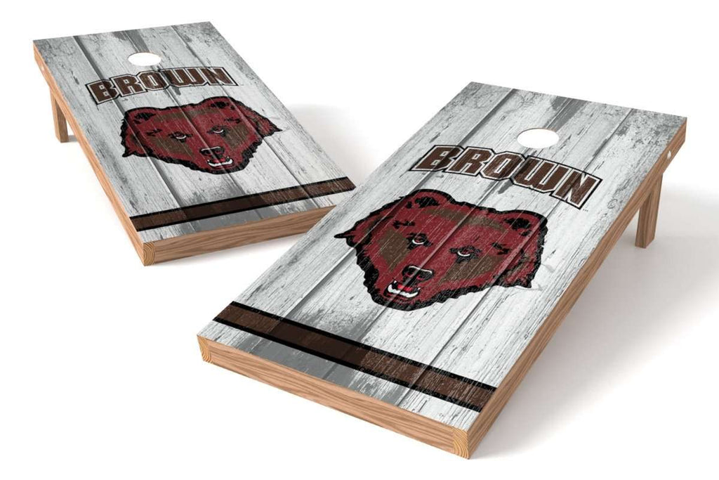 Image: Brown University Bears Cornhole Board Set - Vintage | Proline Tailgating