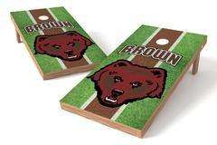 Image: Brown University Bears Single Cornhole Board - Field | Proline Tailgating
