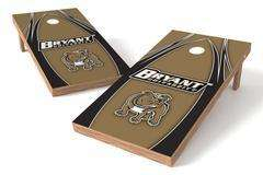 Image: Bryant University Bulldogs Single Cornhole Board - The Edge | Proline Tailgating