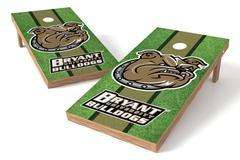 Image: Bryant University Bulldogs Single Cornhole Board - Field | Proline Tailgating