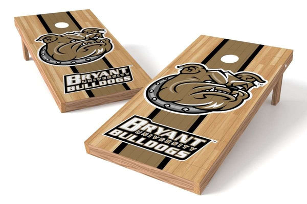 Image: Bryant University Bulldogs Cornhole Board Set - Court | Proline Tailgating