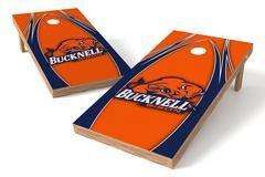 Image: Bucknell University Bison Single Cornhole Board - The Edge | Proline Tailgating