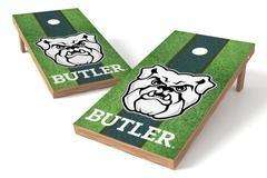 Image: Butler Bulldogs Single Cornhole Board - Field | Proline Tailgating