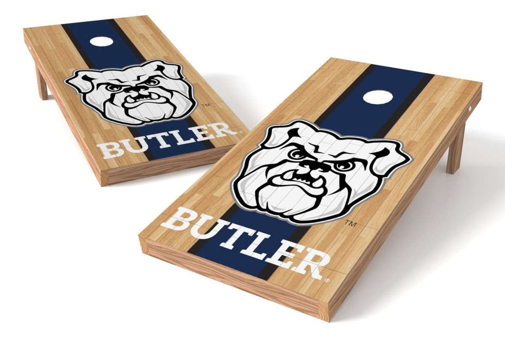 Image: Butler Bulldogs Cornhole Board Set - Court | Proline Tailgating