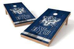 Image: BYU Cougars Single Cornhole Board - Vintage | Proline Tailgating