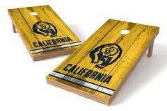 Image: California Golden Bears Single Cornhole Board - Vintage | Proline Tailgating
