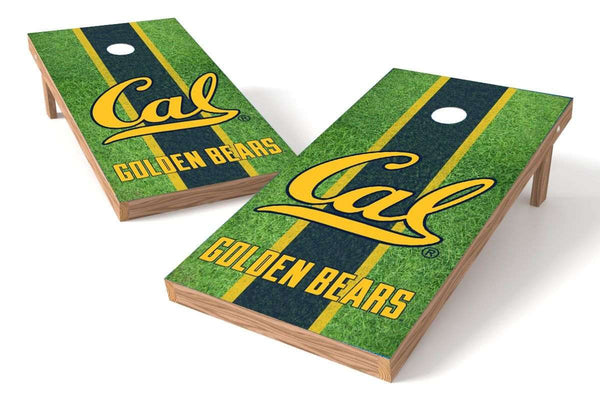 Image: California Golden Bears Cornhole Board Set - Field | Proline Tailgating