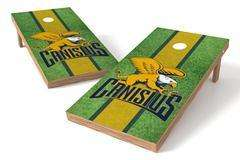 Image: Canisius Golden Griffins Single Cornhole Board - Field | Proline Tailgating
