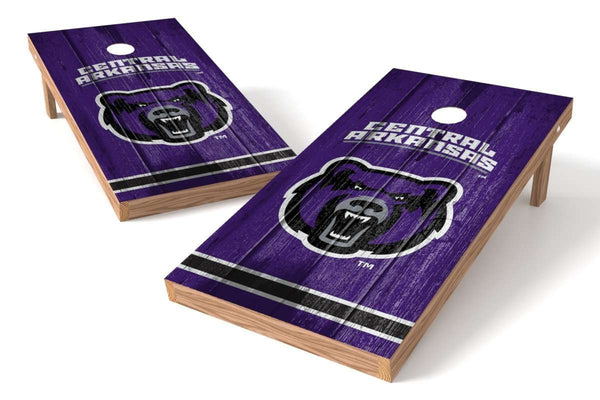 Image: Central Arkansas Bears Cornhole Board Set - Vintage | Proline Tailgating