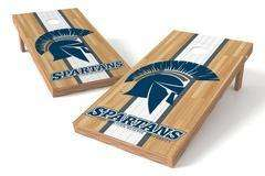 Image: Case Western Spartans Single Cornhole Board - Court | Proline Tailgating