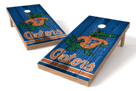 Image: Florida Gators 2x4 Cornhole Board Set - Vintage | Proline Tailgating