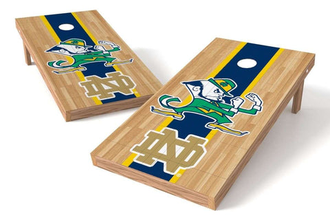 Image: Notre Dame Fighting Irish 2x4 Cornhole Board Set - Court | Proline Tailgating
