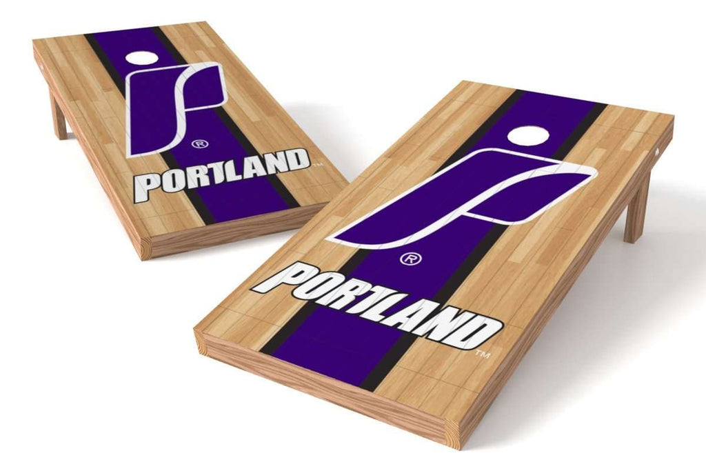 Image: Portland Pilots Cornhole Board Set - Court (w/Bluetooth Speakers) | Proline Tailgating