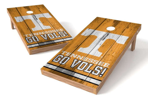 Image: Tennessee Volunteers 2x4 Cornhole Board Set - Vintage | Proline Tailgating