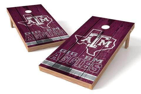 Image: Texas A&M Aggies 2x4 Cornhole Board Set - Vintage | Proline Tailgating