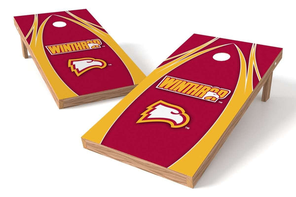 Image: Winthrop Eagles Cornhole Board Set - The Edge | Proline Tailgating