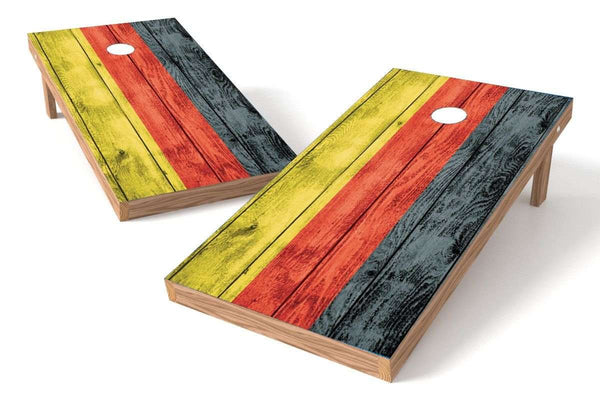Image: Germany Flag Cornhole Board Set-Vintage | Proline Tailgating