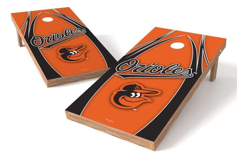 Image: Baltimore Orioles Cornhole Board Set - The Edge (w/Bluetooth Speakers) | Proline Tailgating