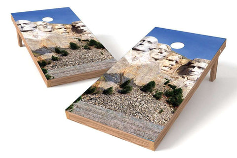 Image: Mount Rushmore Cornhole Board Set | Proline Tailgating