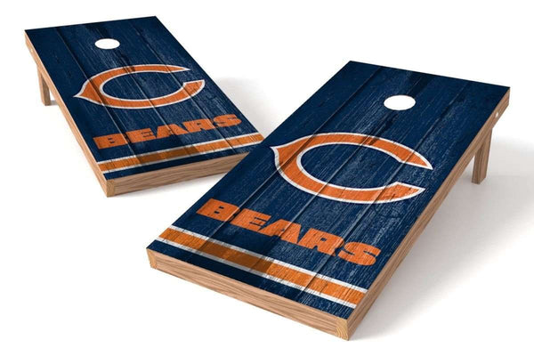 Image: Chicago Bears 2x4 Cornhole Board Set - Vintage | Proline Tailgating