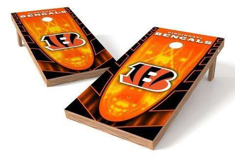 Image: Pittsburgh Steelers 2x3 Cornhole Board Set - Millennial S Bend | Proline Tailgating