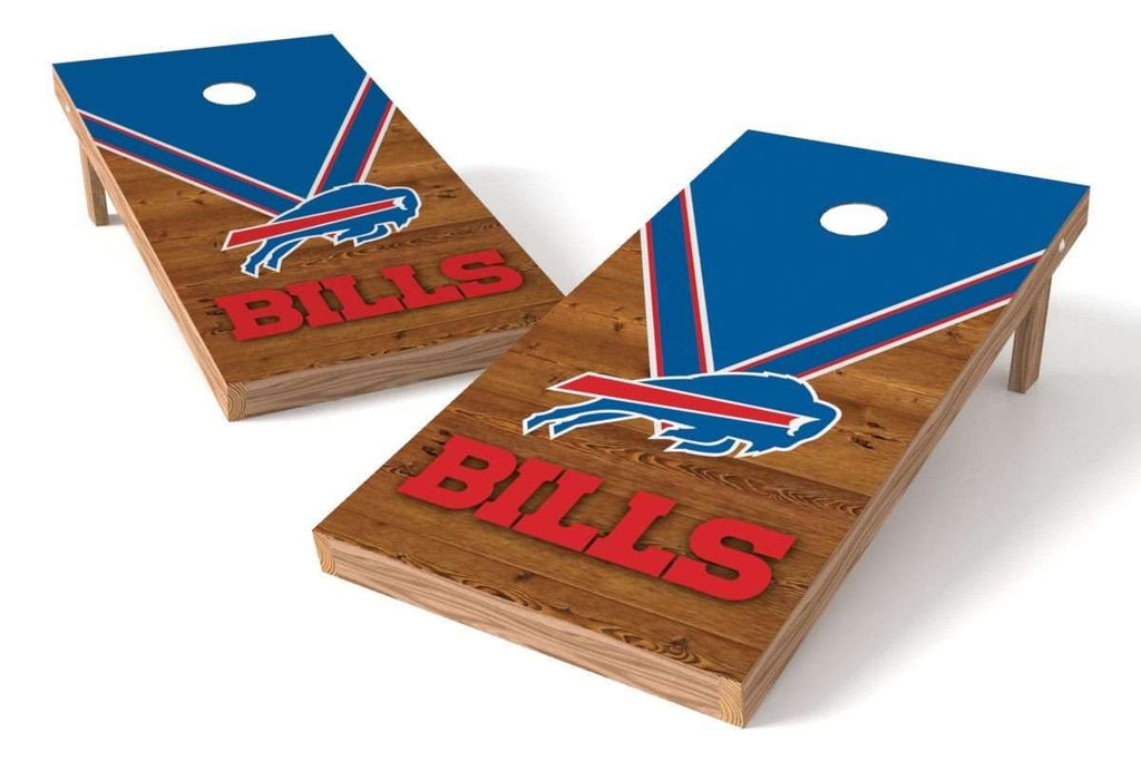 Image: Buffalo Bills 2x4 Cornhole Board Set - Uniform | Proline Tailgating