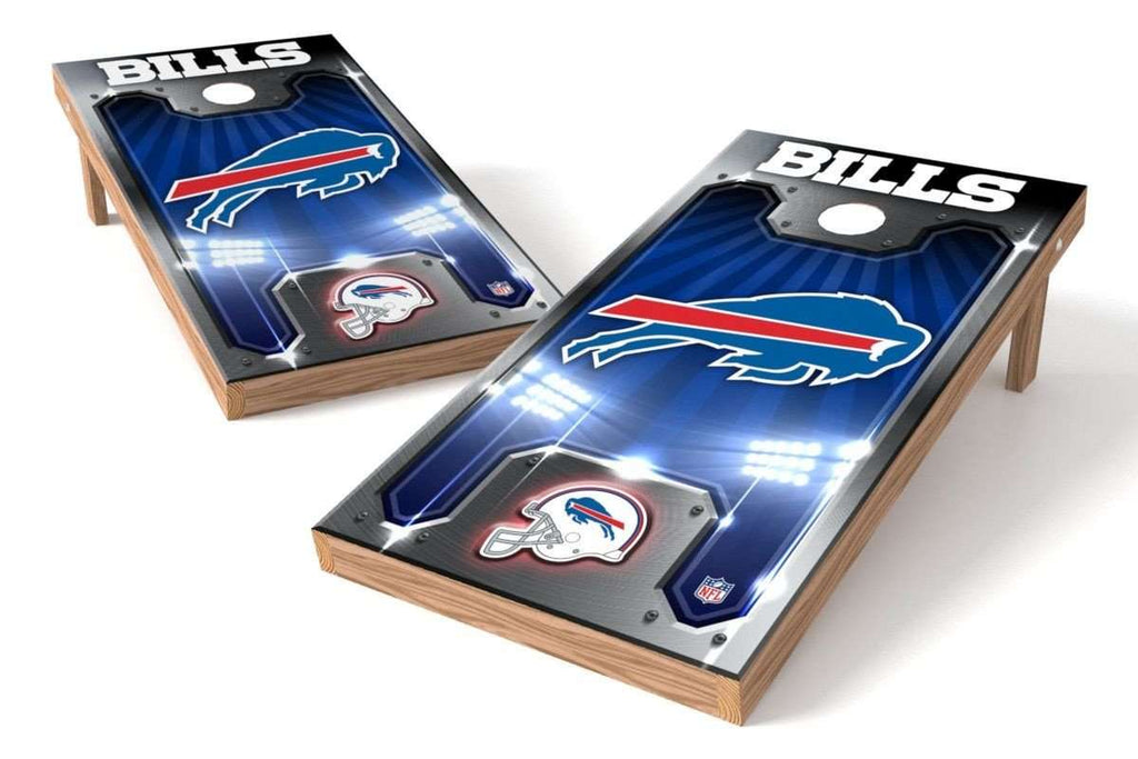 Image: Buffalo Bills 2x4 Cornhole Board Set - Plate | Proline Tailgating