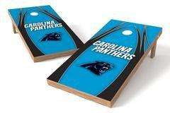 Image: Carolina Panthers Single Cornhole Board - The Edge | Proline Tailgating