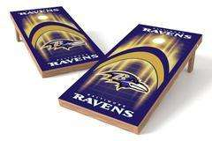 Image: Baltimore Ravens Single Cornhole Board - Arch | Proline Tailgating