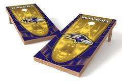 Image: Baltimore Ravens Single Cornhole Board - Hot | Proline Tailgating