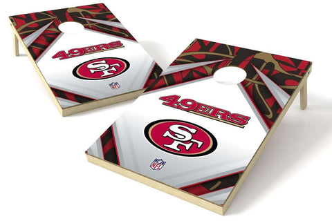 Image: San Francisco 49ers 2x3 Cornhole Board Set - Millennial Diamond | Proline Tailgating