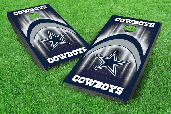 Image: Dallas Cowboys 2x4 Cornhole Board Set - Arch | Proline Tailgating