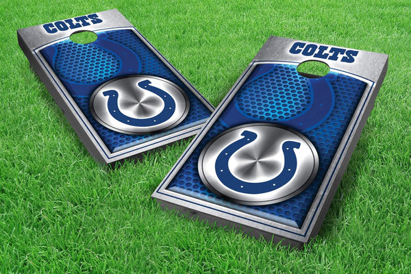 Image: Indianapolis Colts Cornhole Board Set - Medallion | Proline Tailgating